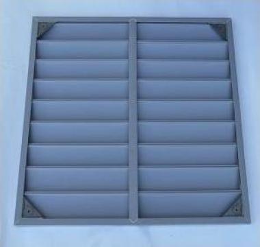 Jaluzea pasiva ventilator industrial 63 mm