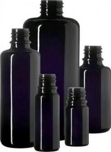 Flacoane si recipiente sticla violet Miron Violetglass de la Ledumist Comimpex Srl