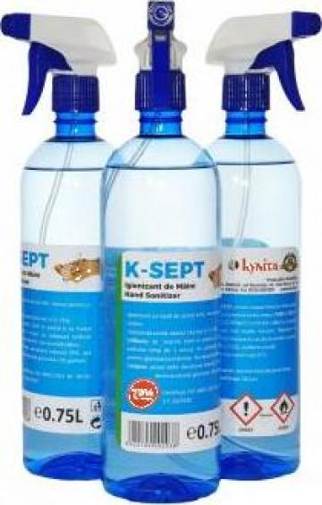 Dezinfectant de maini K-Sept 0.75L cu pulverizator de la Kynita Srl