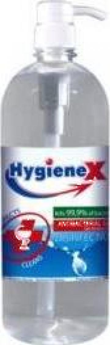 Gel antibacterian & dezinfectant Hygienium 1000 Ml de la Stefan Distributie Srl