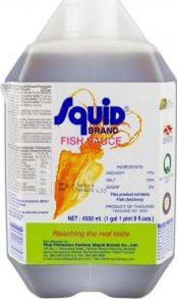 Sos de peste (fish sauce) squid de la Expert Factor Foods Srl
