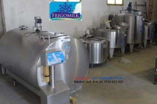 Tanc racire lapte 1500 litri cu spalare complet automata de la Frigomilk Srl