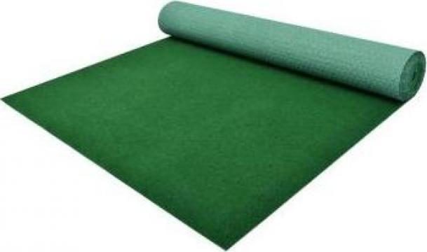 Gazon artificial cu crampoane, verde, 5 x 1 m, PP de la Vidaxl
