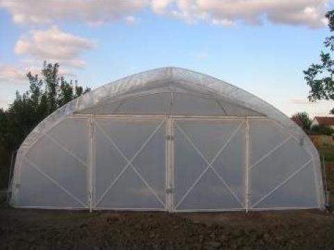 Solarii profesionale cu folie dubla 6x24m de la Fabrica de Solarii