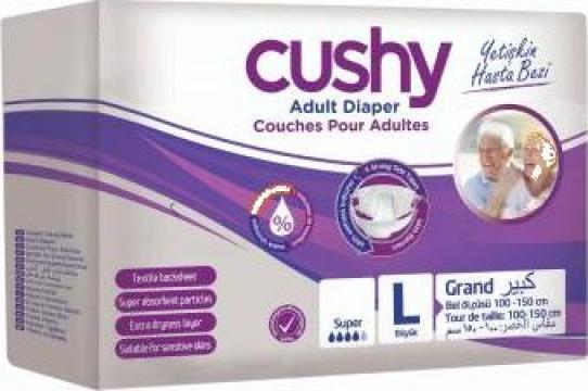 Set scutece adulti, Cushy, marimea L-Large, 60 buc/set de la Europe One Dream Trend Srl