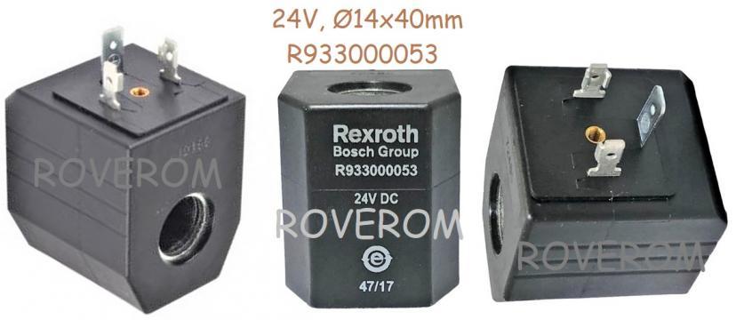 Bobina 24V, D14x40mm, electrovalva hidraulica de la Roverom Srl