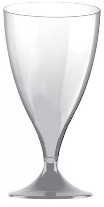 Pahar transparent apa-vin Easy 200cc 20 buc/set de la Cristian Food Industry Srl.