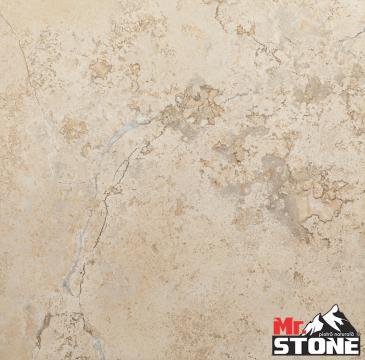 Travertin Walnut chituit lustruit 40,6 x 61cm de la Antique Stone Srl