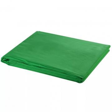 Fundal foto, bumbac, verde, 300 x 300 cm, Chroma Key de la Comfy Store