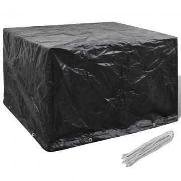 Husa mobilier gradina, 8 ocheti, 135x135x90 cm de la Comfy Store