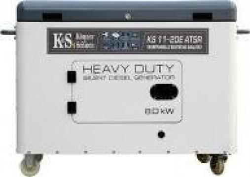 Generator de curent diesel, monofazat, insonorizat 8 kw de la Magazin-scule.ro