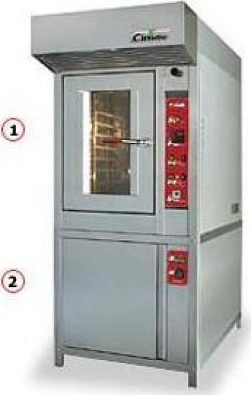 Cuptorpatiserie electric/gaz de la Romcooling Pro