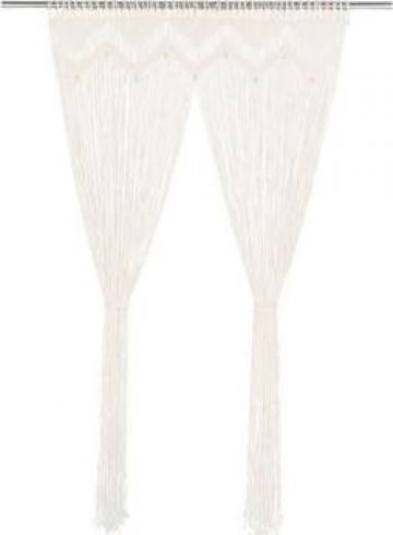 Perdea macrame, 140 x 240 cm, bumbac
