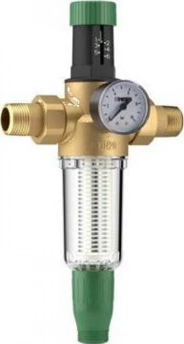 Reductor presiune apa 3/4 PN16 cu filtru purjare Herz de la Ecomas Energosystem Srl