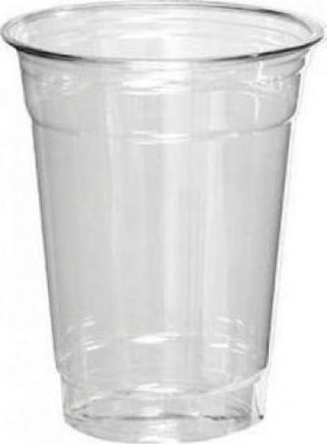 Pahare 400ml transparente plastic de la Cosept Srl