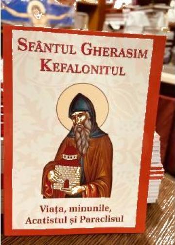Carte, Sfantul Gherasim Kefalonitul viata minunile acatistul de la Candela Criscom Srl.