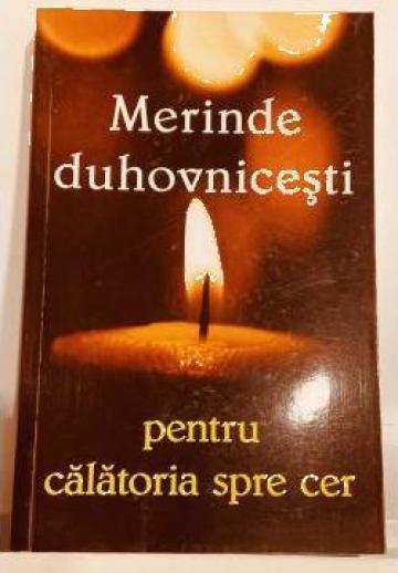 Carte, Merinde duhovnicesti pentru calatoria spre cer de la Candela Criscom Srl.