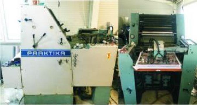 Masini de tiparit, utilaje tipografice Roland Praktica A2 de la