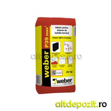 Adeziv polistiren Weber P39 de la Altdepozit Srl