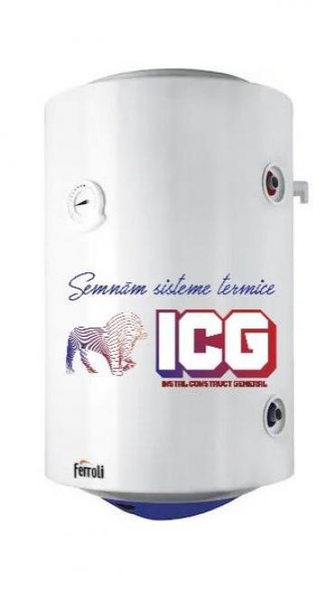 Boiler termoelectric Ferroli Power Termo 120 litri de la ICG Center