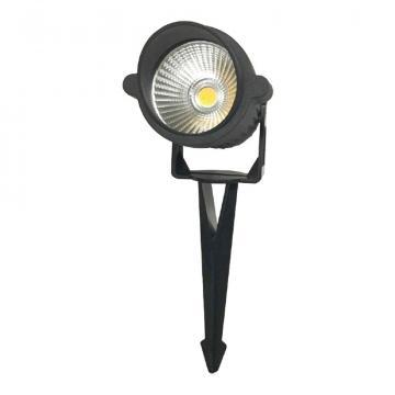 Corp iluminat pentru gradina 1xGU10, IP65, negru de la Spot Vision Electric & Lighting Srl