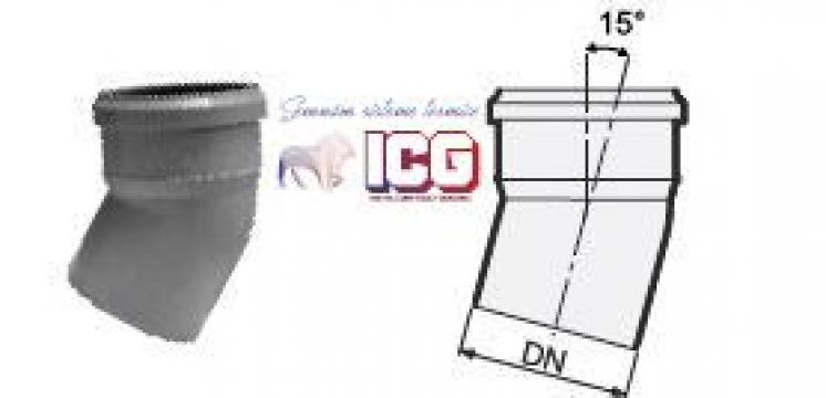 Cot polipropilena pentru canalizare D.110mm la 15 de la ICG Center