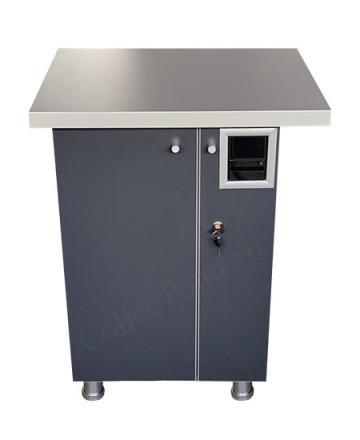 Cabinet aparat cafea VM4 Antracit de la Vending Master Srl