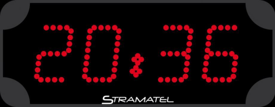 Ceas led Stramatel caractere 9cm