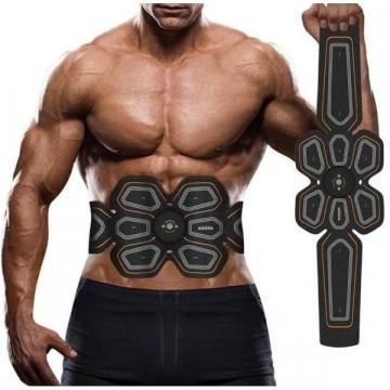 Centura electrostimulare abdomen Six Pack EMS Goldtin