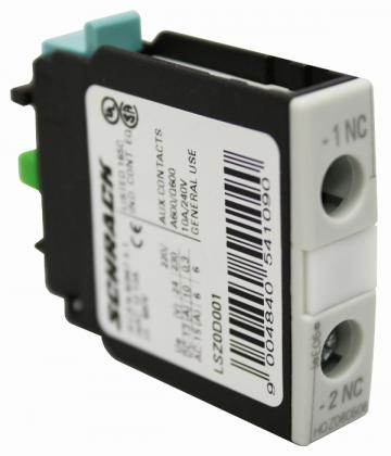 Contact auxiliar 1NC Schrack LSZ0D001