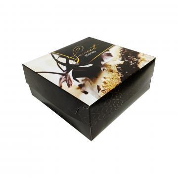 Cutie din carton pentru prajituri cu aluminiu pe interior de la GM Proffequip Srl