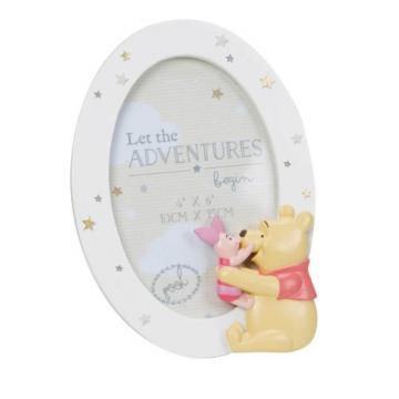 Rama foto ovala Winnie the Pooh Disney Magical Beginnings de la Krbaby.ro - Cadouri Bebelusi