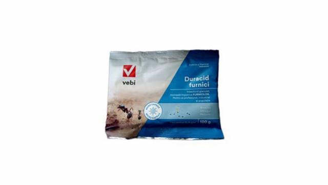 Insecticid Duracid pentru furnici 100gr.