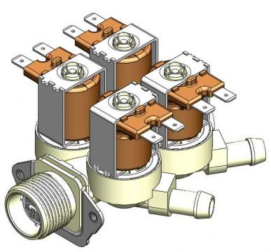 Electrovalva 4 cai, D.14mm 3120165