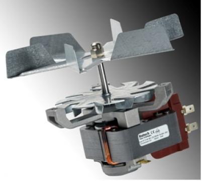 Elice pentru motor ventilator cuptor Rotech 152mm