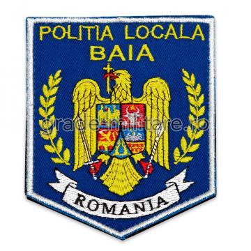 Emblema brodata Politia Locala 6 de la Hyperion Trade