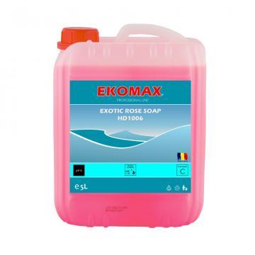 Sapun lichid canistra 5 litri Exotic Rose Soap de la Ekomax International Srl