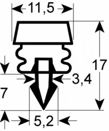Garnitura 1200mm 902158