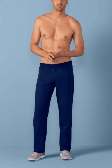 Pantaloni Heavy Blend Adult Open Bottom Sweatpants de la Top Labels