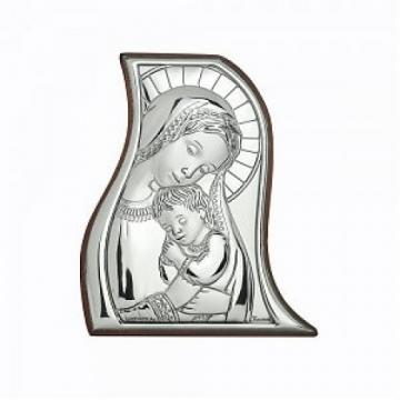 Icoana pe foita de argint Maica Domnului si Pruncul de la Krbaby.ro - Cadouri Bebelusi