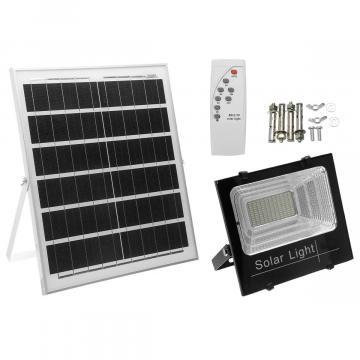 Kit solar, proiector led cu telecomanda si panou solar IP de la Dali Mag Online Srl