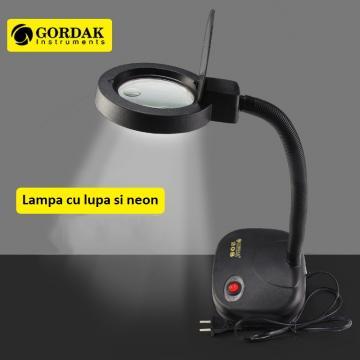 Lampa cu lupa Gordak 208 de la Retail Net Concept SRL
