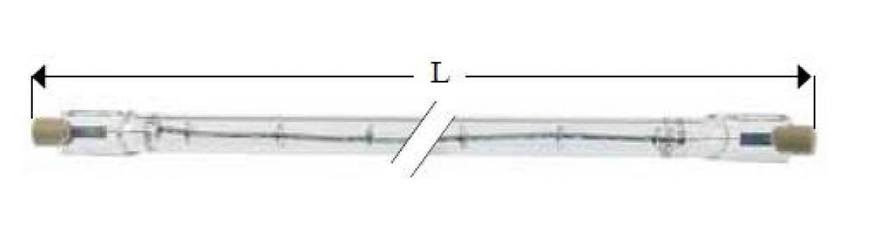 Lampa infrarosu R7s, 220-250V, 300W, L117.6mm 359628 de la Kalva Solutions Srl
