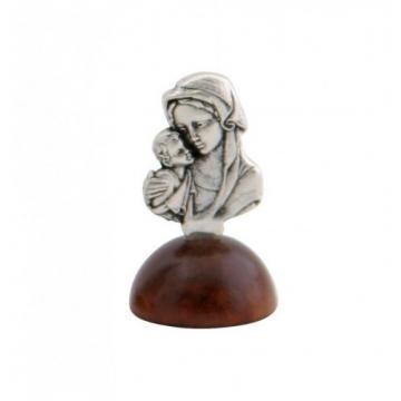 Marturie botez statueta argintata Fecioara Maria cu Pruncul de la Krbaby.ro - Cadouri Bebelusi