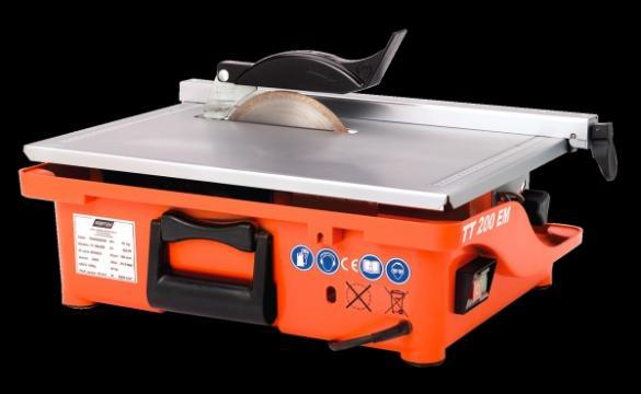 Masina de taiat placi ceramice TT200 EM de la Tehnic Depo Srl