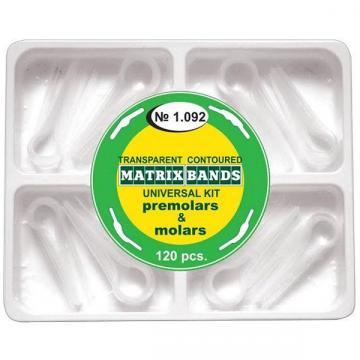 Matrici conturate mylar premolari si molari