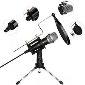 Microfon profesional Studio cu condensator si mini trepied de la Startreduceri Exclusive Online Srl - Magazin Online - Cadour