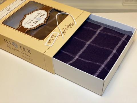 Patura lana 80%, Stefania-V3, cutie premium