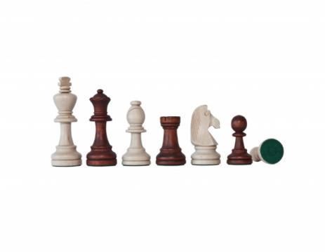 Piese sah lemn Staunton 7 de la Chess Events Srl