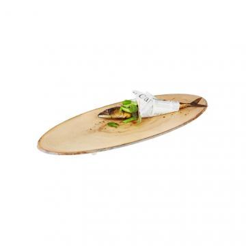 Platou melamina pentru servire, cu aspect lemn de la GM Proffequip Srl